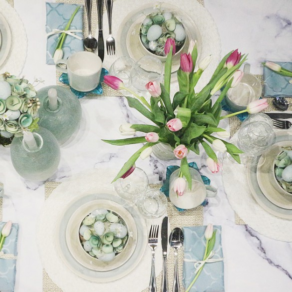 Décorer la table parfaite pour Pâques