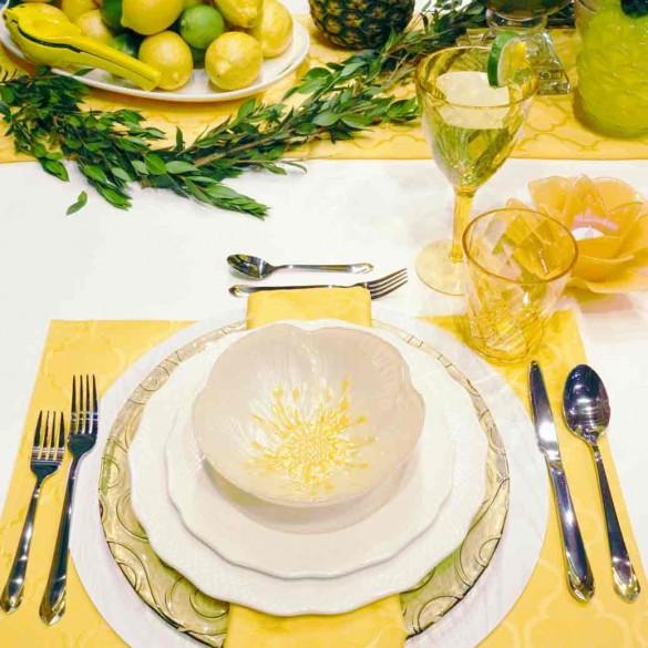 Cet été, soyez inspiré pour votre table des mariés !