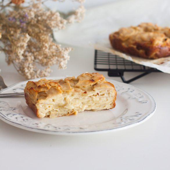 Gâteau invisible aux pommes : Une recette fraîchement récoltée cette saison