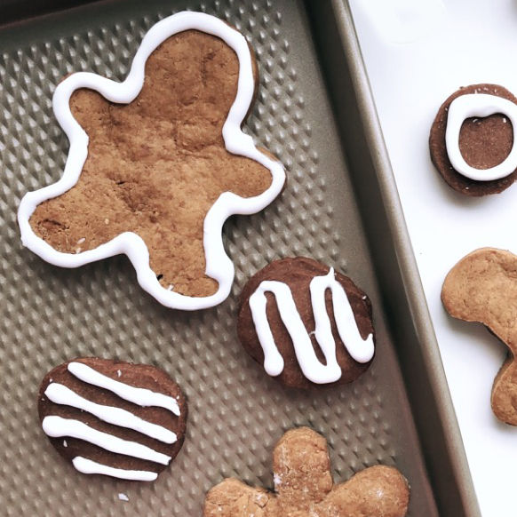 Recettes santé faciles de sablés au chocolat et de biscuits au gingembre