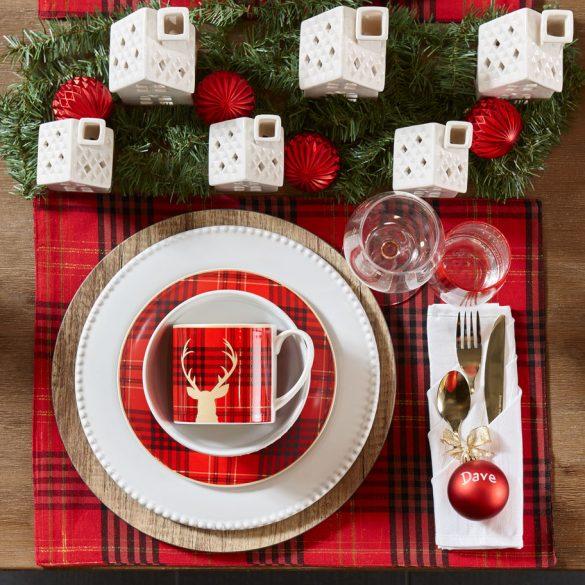 Un décor réjouissant pour votre table des Fêtes !