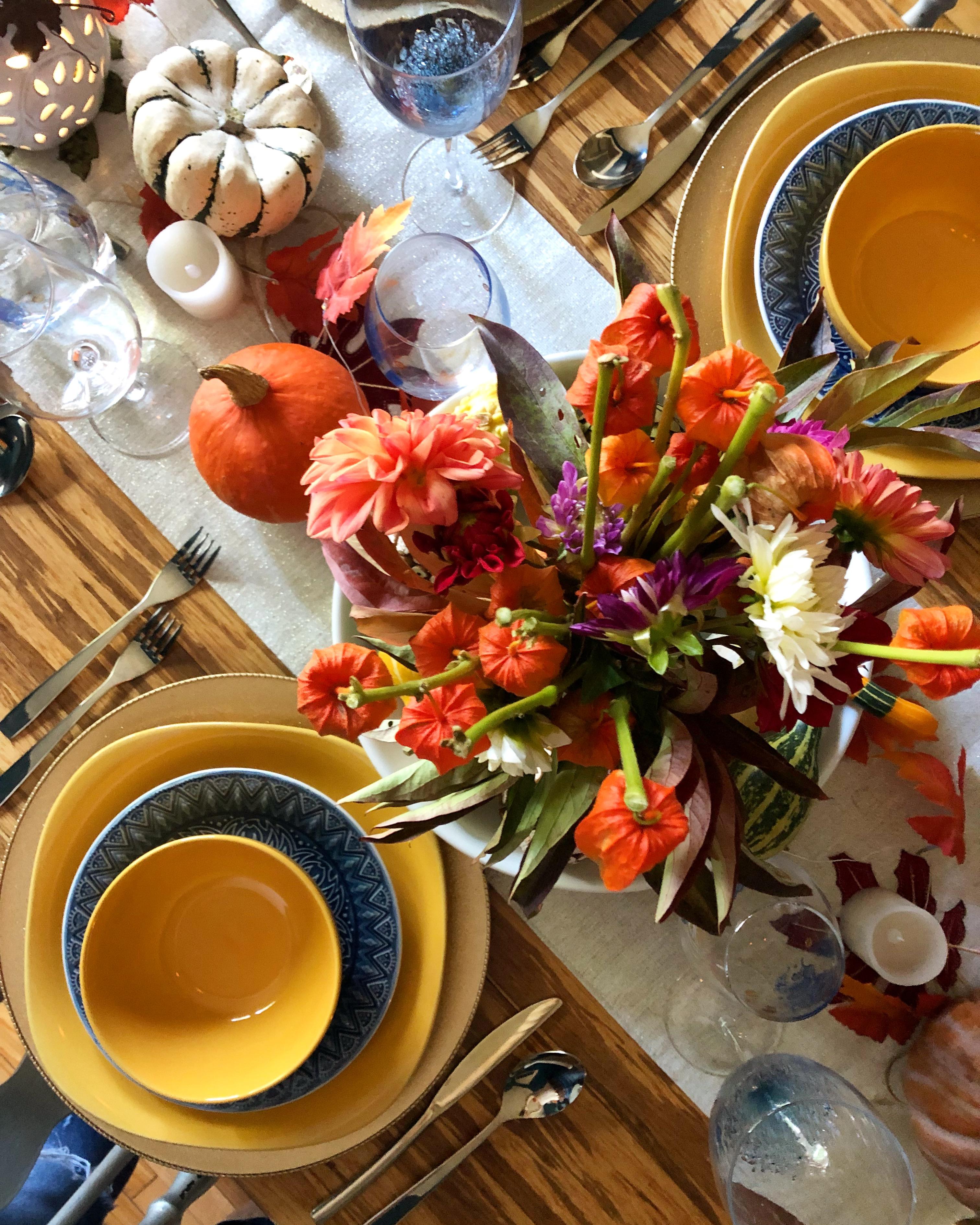 Comment dresser une table d automne parfaite – Inspiration fe74b4b68ada